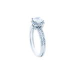 img_0003_3 Arum Halo ENCHANTED with Cushion cut diamond 2